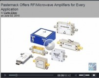 IMS 2015 video discussing largest in-stock inventory of RF, microwave and millimeter wave amplifiers at Pasternack